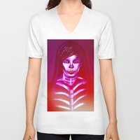 louis V-neck T-shirts featuring Louis by nasalouis