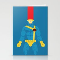 cyclops Stationery Cards featuring Cyclops by gallant designs