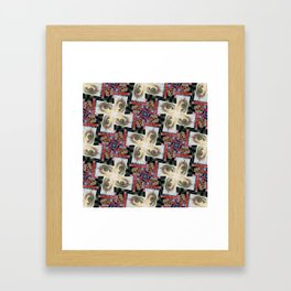 Simulacra Study Quilt Framed Art Print