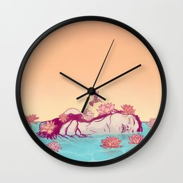 Naiad Lady Wall Clock