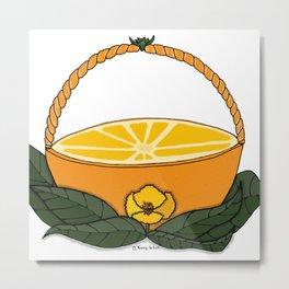 A Fruit Basket Metal Print