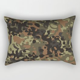 Fleck Tarn Camoflauge  Rectangular Pillow
