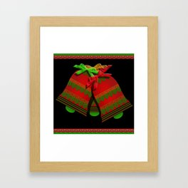 Christmas Bells Framed Art Print