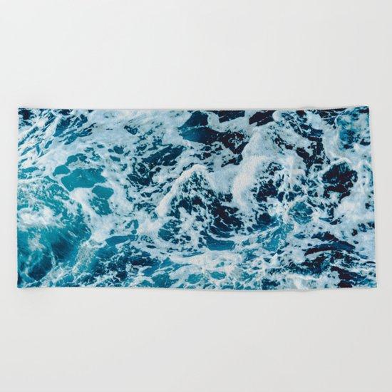 Lovely Seas Beach Towel