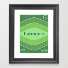 harmonie single hop Framed Art Print