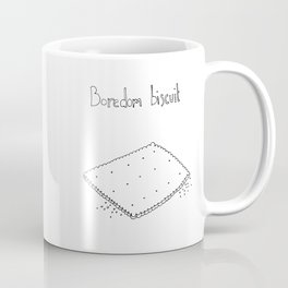 Boredom biscuit // Comfort food Series Coffee Mug