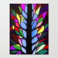 stained glass Canvas Prints featuring Stained Glass by Sartoris ART