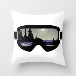 Morning Goggles Throw Pillow