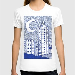 A Starry Night In Atlanta T-shirt