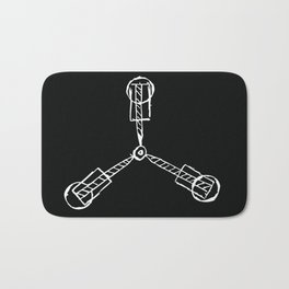 Back to the Future - Flux Capacitor Bath Mat