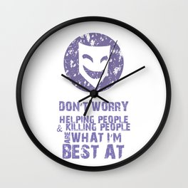 What I'm Best At Wall Clock