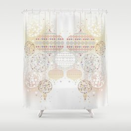 Eid Lanterns Shower Curtain