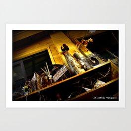 Metal Artwalk, artist Chas Art Print