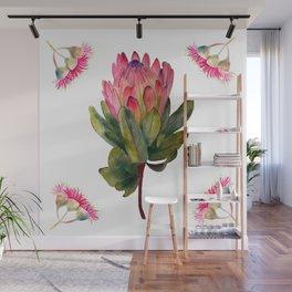 Protea Botanical Wall Mural