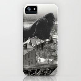 Cincinnati King Kong and Godzilla Rumble iPhone Case