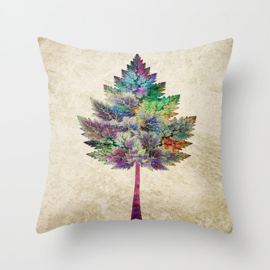 Like a Tree 2. version Throw Pillow