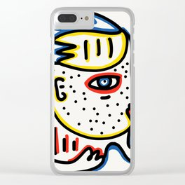 Pull Out the Tang Street Art Graffiti Clear iPhone Case