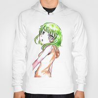 vocaloid Hoodies featuring Gumi FANART by jannaj