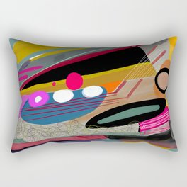 Abstract Patterns Rectangular Pillow