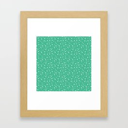 """Ararekomon"" Japanese traditional pattern Framed Art Print"