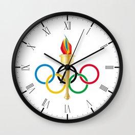 Olympic Rings Wall Clock