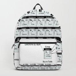 Periodic Table Mendeleev Backpack