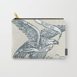 Rise In Art We Trust 2 Carry-All Pouch