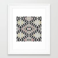 navajo Framed Art Prints featuring navajo by spinL