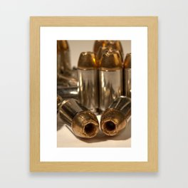 Hollow points Framed Art Print