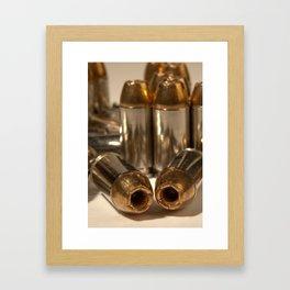 Hollow points Framed Art Print