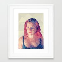 wasted rita Framed Art Prints featuring Rita by Luis Marques