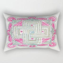 Rangoli 4 Rectangular Pillow