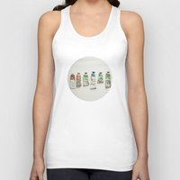 oil Tank Tops featuring Oil Paints by Cassia Beck