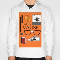 alex vause Hoodies featuring Alex Vause Poster by Zharaoh