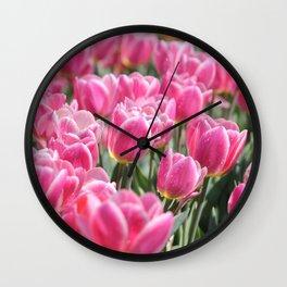 Tulip Series Part 1 Wall Clock