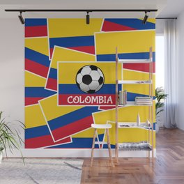 Colombia Football Wall Mural