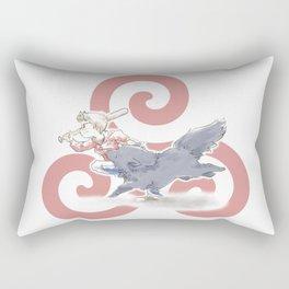 Whup Butt! Rectangular Pillow