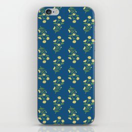Floral pattern #1 iPhone Skin