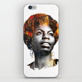 Nina Simone iPhone Skin