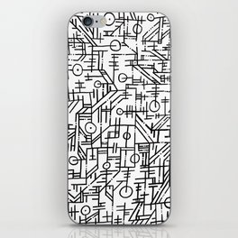 CHIA Map Closeup iPhone Skin