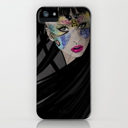 LADY G iPhone Case