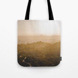 Golden Hour - Los Angeles, California Tote Bag