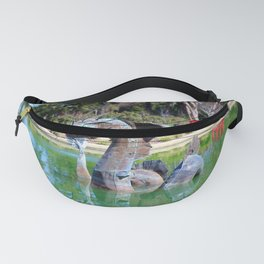 Sea Monster Sculpture Fanny Pack