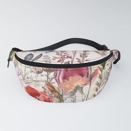 Bright spring field. Romantic pattern Fanny Pack