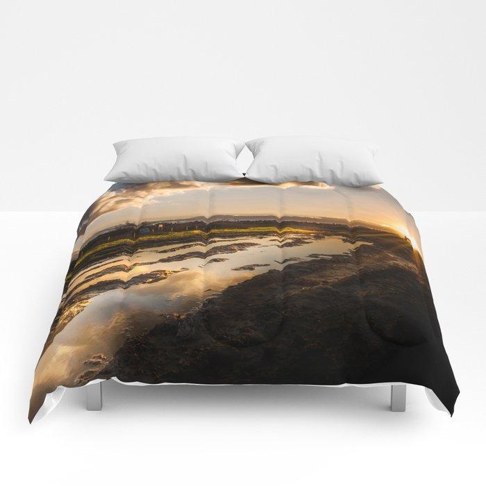I am following  Comforters