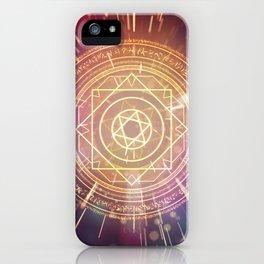 Strange Magic Mandala 1 iPhone Case