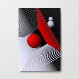 3D-geometry -1- Metal Print