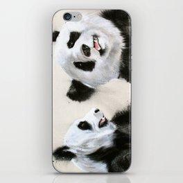Laughing Pandas  iPhone Skin