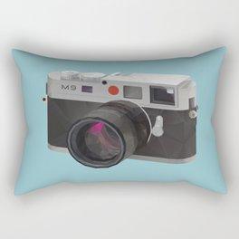 Leica M9 Camera polygon art Rectangular Pillow