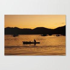 Tranquil Coron Canvas Print